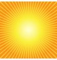 Sunburst Yellow Orange Background vector image