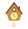 Wood Cuckoo-clock vector image