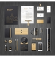 Corporate identity for real estate vector image