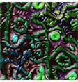 Alien skin organic texture vector image