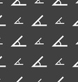 Angle 45 degrees icon sign Seamless pattern on a vector image