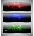 Electronics web banners vector image