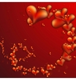 Collection of Beautiful Hearts vector image vector image