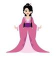 Oriental Princess vector image
