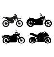 motorcycle 06 vector image