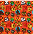 china seamless pattern vector image