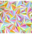 geometric colorful seamless background vector image