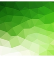Abstract green colorful geometric background vector image