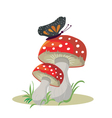 Toadstool vector image