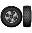 tyres vector image