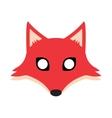 fox mask vector image