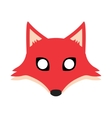 fox mask vector image