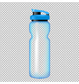 sports bottle for water vector image