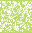 color seamless swirl olive background green vector image
