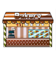 a bakery vector image