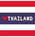 I love Thailand18 vector image