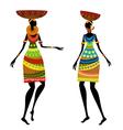 ethnic woman vector image