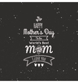 Mother Day labels vector image