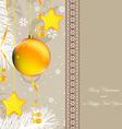 ny gold brown vector image