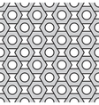 Seamless pattern with nut vector image