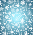 Christmas Snowflake Background vector image vector image
