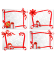 holiday backgrounds vector image vector image