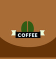 flat icon design collection sign of coffee vector image