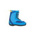 snowboarding boots isolated vector image