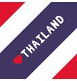 I love Thailand19 vector image