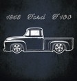 1956 Ford F100 vector image
