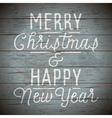 slogan for Christmas and New Year holidays vector image