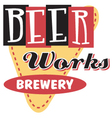 Beer works brewery vector image