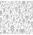 Microphone a background vector image vector image