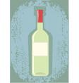 wine grunge vector image vector image