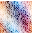 Colorful low poly graphic background vector image