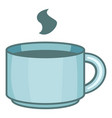 cup coffee icon cartoon style vector image