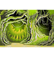 Magic Tale Forest Background vector image