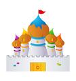 icon castle vector image vector image