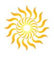 Candy Sun Logo vector image