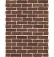 seamless brick wall vector image
