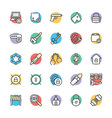 Security Cool Icons 5 vector image