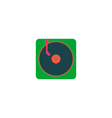 Turntable Icon vector image