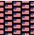 Flag of the United States seamless pattern vector image