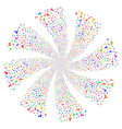 person fireworks swirl flower vector image