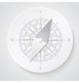 Paper compass vector image