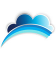 Cloud Rainbow vector image vector image