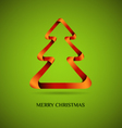Christmas template vector image vector image