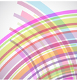 Abstract background with colorful lines vector image vector image