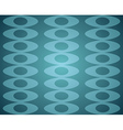 Blue Retro Seamless pattern vector image