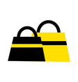 Two hand Bag vector image vector image